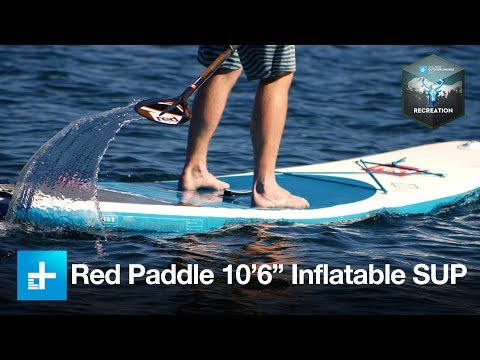 "Red Paddle Co. 10'6"" Ride MSL Stand Up Paddleboard - Best Recreation - Outdoor Awards 2017"