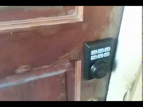 how to set up an electronic dead bolt
