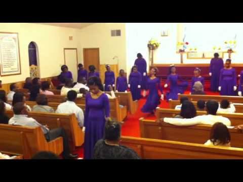 Angels Of Heaven Praise Ministry Performing The Storm Is Over Now