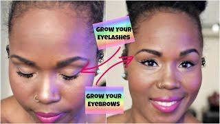 How Grow Your Eyelashes And Eyebrows Naturally Fast