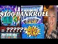 $100 BANKROLL ** START SMALL AND END BIG! ** 🤔🤑