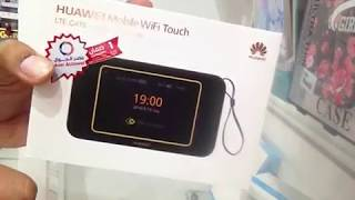 v2Movie : Huawei E5788 E5788u-96a Gigabit LTE Hotspot Unboxing