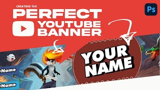 Best Top New YouTube Channel Art PSD | Kaushal Gfx | Photoshop Pro Tutorial