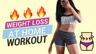 WEIGHT LOSS WORKOUT at Home - Workout of the Day (WOTD)