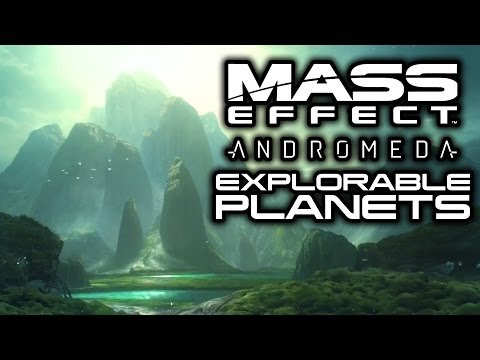 MASS EFFECT ANDROMEDA: How Many Planets Can We Explore? (Every Planet, Habitat, Golden World SO FAR)