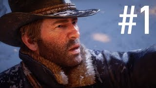 Red Dead Redemption 2 - Part 1 - Walkthrough Gameplay EPIC INTRO and FIRST MISSION!