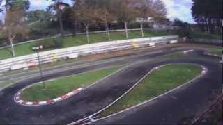 1ª COMPARATIVA F1 THUNDER TIGER Y TAMIYA F1 EN CIRCUITO SAMIL.