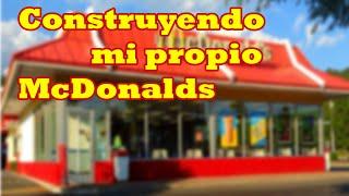Mein eigenes MacDonald auf ROBLOX bauen