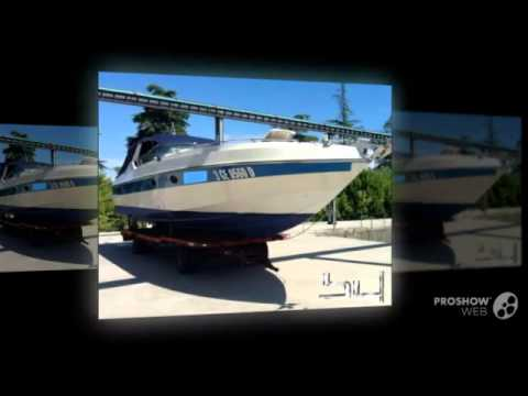 Colombo poroli 41 blue shore power boat, cruiser yacht year - 1989