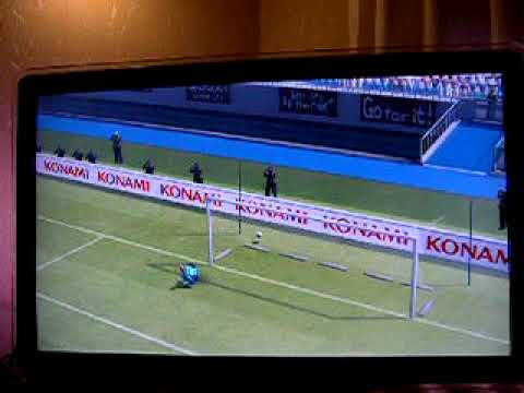 TOP 50 Best Ever Pro Evo PES 2009 GOALS Scored Arteta Goal Everton V Liverpool (Awesome Free Kick)