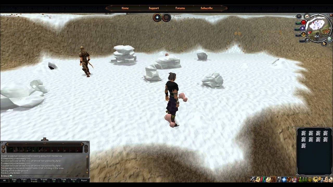 RuneScape - Member fast money making Polar kebbit