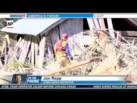 Newsmax: Seattle Reporter: Recovery Operation Underway in Wash. Mudslide