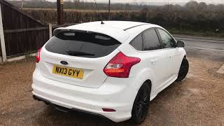 2013 FORD FOCUS 1.0 ZETEC S S/S FOR SALE | CAR REVIEW VLOG