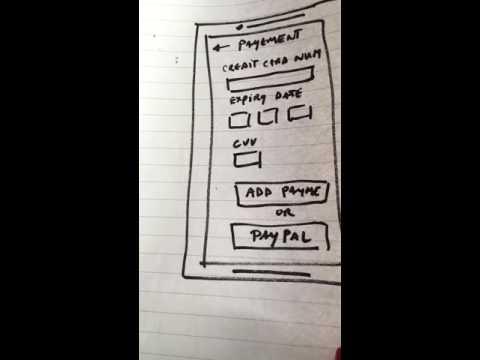 Paper prototyping Demo