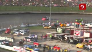 6.7.14 Dirt Late Model Dream: Heat Race Highlights