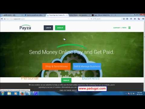 Free Online Bank Accounts for Online Job - PayPal, Perfect Money, Payza, Bitcoin