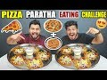 PIZZA PARATHA EATING CHALLENGE BROTHER VS BROTHER FOOD COMPETITION Food Challenge In India Ep 89 mp3