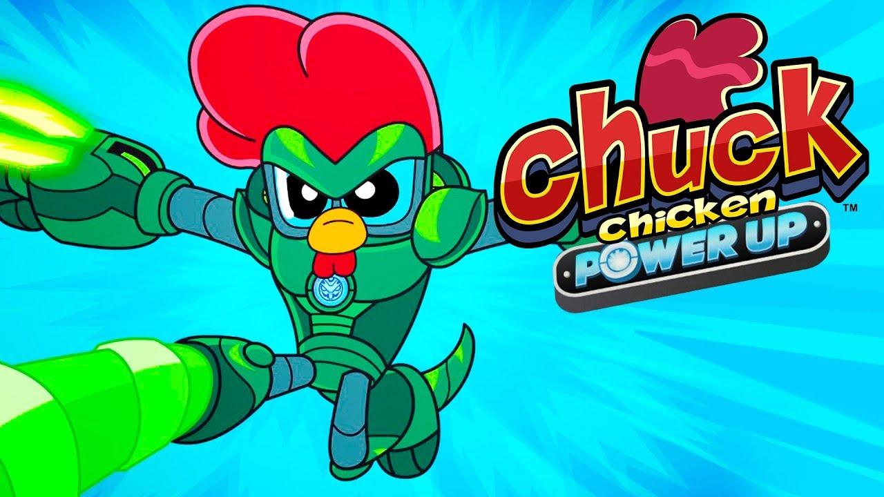 Chuck Chicken Power Up Special Edition - Episode 14 - Overlord Zeros -  Cartoon Show