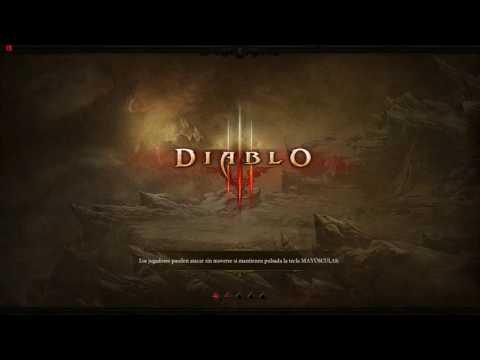 Diablo III LAS PROFUNDIDADES DEL TORREÓN NIVEL 1, GUERRERO DIVINO NIVEL 39.