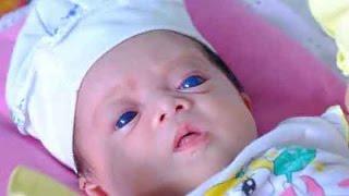Cô bé mắt xanh kỳ lạ chào đời ở Đồng Nai [Tin mới Người Nổi Tiếng]