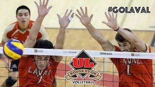 Volley M- Demi-finale RSEQ Sherbrooke c. Laval | Match #1