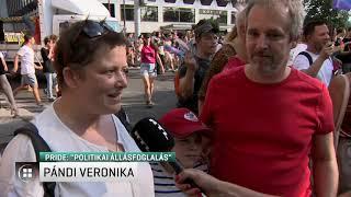 """""""Politikai állásfoglalás részt venni a Pride-on"""" 19-07-07"""