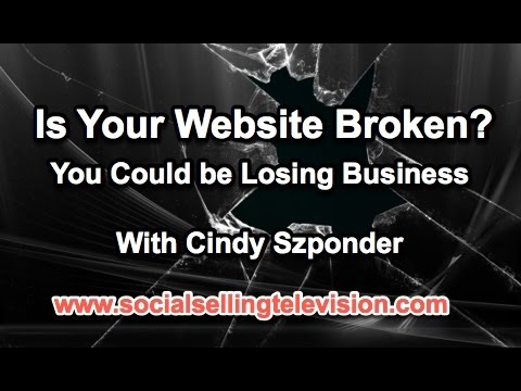 Is your website broken?
