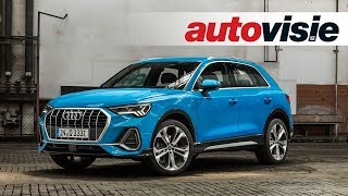 Audi Q3 (2018) - Preview - Autovisie Vlog