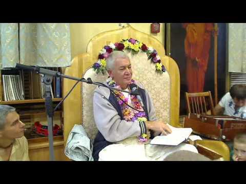 Бхагавад Гита 10.9 - Чайтанья Чандра Чаран прабху