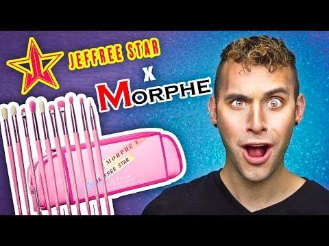 NO BS Jeffree Star x Morphe BRUSH SET Review + GIVEAWAY thumbnail