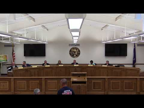 Chester County Council Meeting 10-16-2017