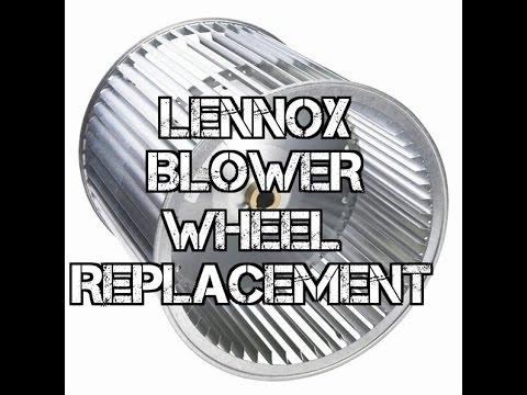 Lennox blower wheel replacement hvac youtube for Lennox furnace blower motor not working