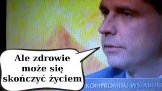 """Ryszard Petru """"ALE ZDROWIE MOŻE SIĘ SKOŃCZYĆ ŻYCIEM"""" śmieszne wpadka śmieszne filmy"""