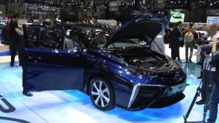 Salone di Ginevra 2015: Toyota Mirai
