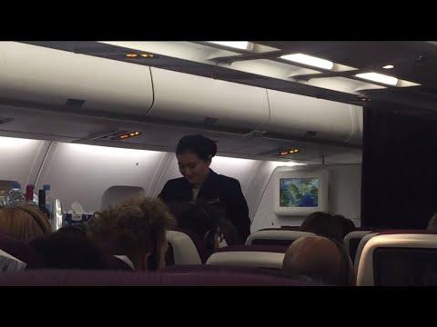 Qatar Airways Flight Experience: QR918 Doha to Yangon