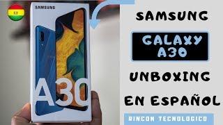 GALAXY A30│UNBOXING en ESPAÑOL│ADIÓS a la SERIE J