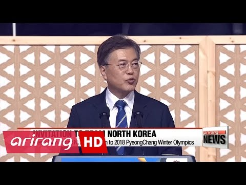 South Korean President invites North Korean athletes to 2018 Winter Olympics in PyeongChang