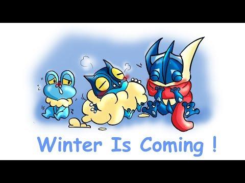 Pokemon Chibi Requests #1: Froakie, Frogadier, Greninja - Winter Is Coming Story.