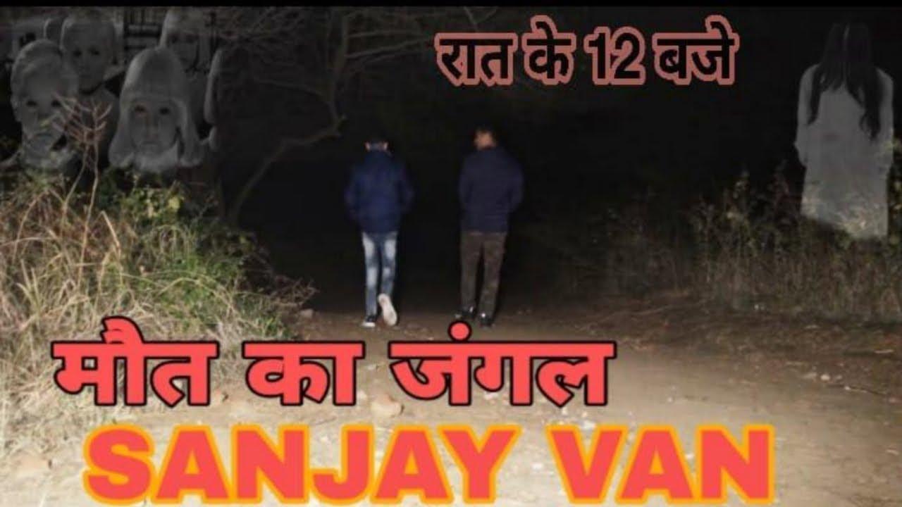 Sanjay Van Night Vlog Raat ke 12 baje || Haunted Forest of ...