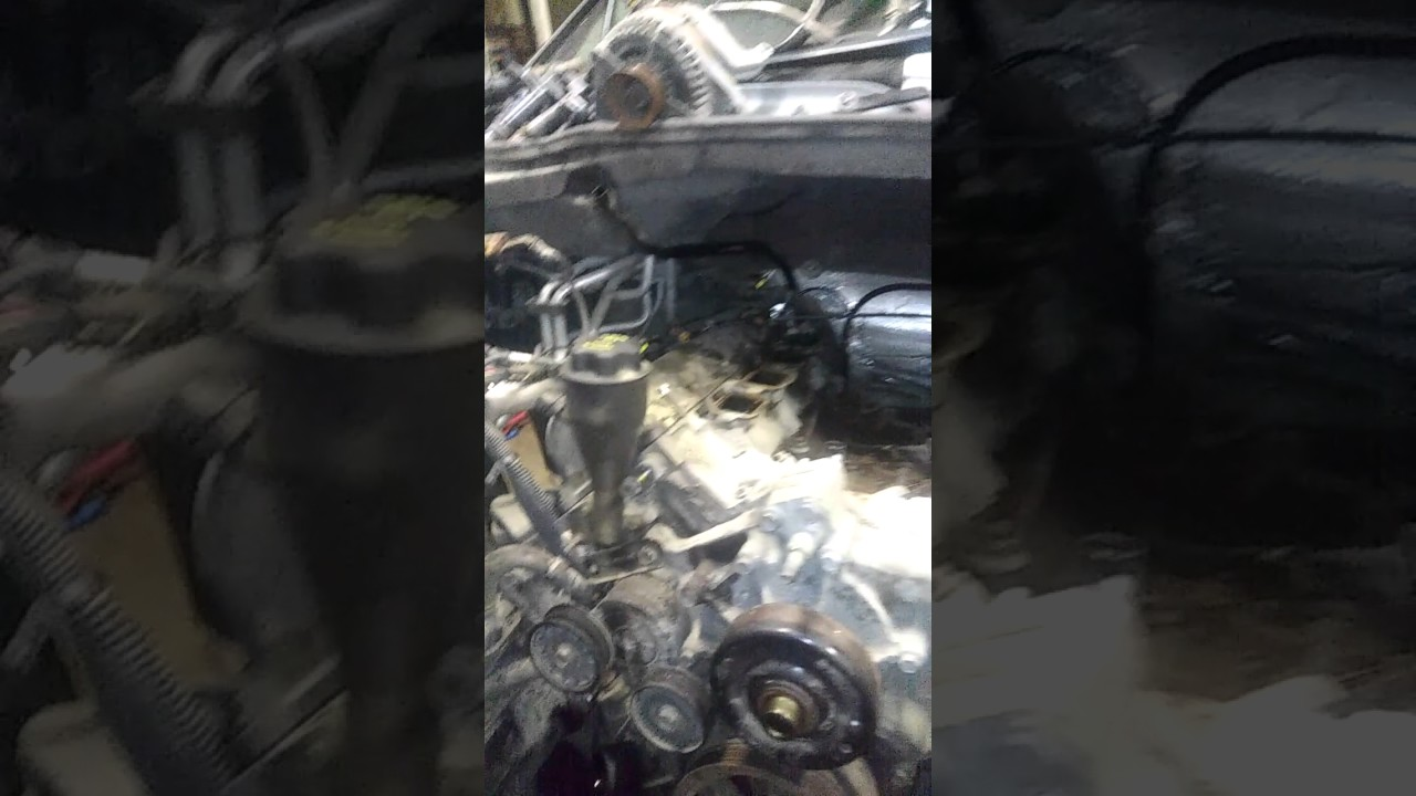 hight resolution of durango 4 7 engine removal and diag part 1