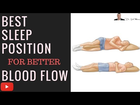 ♥ What's The Best Sleep Position For Better Blood Flow and Circulation