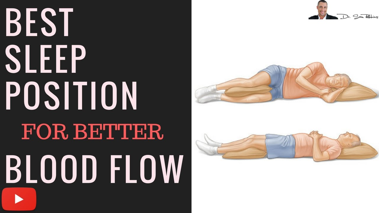what s the best sleep position for better blood flow and blood pressure diagram of correct posture [ 1280 x 720 Pixel ]