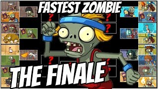 The FASTEST ZOMBIE! Captain Hack Wacky Race The Final Round- Plants vs Zombies 2 Epic MOD