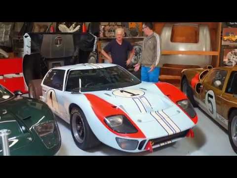 Adam Carolla With Ken Miles Original Ford Gt40 Youtube