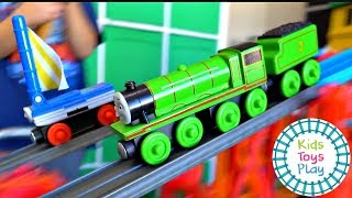 Thomas and Friends Mystery Wheel Down Hill Train Races Movie Edition