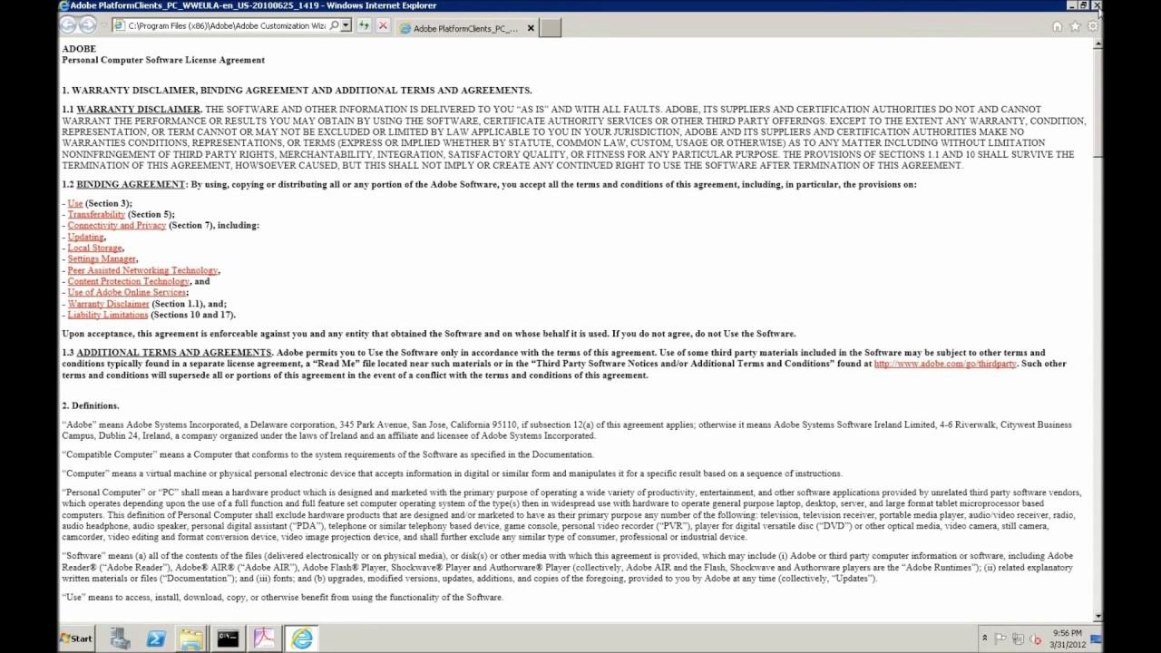 ADOBE ACROBAT READER DC 2018 ADMX - Deploy Adobe Reader