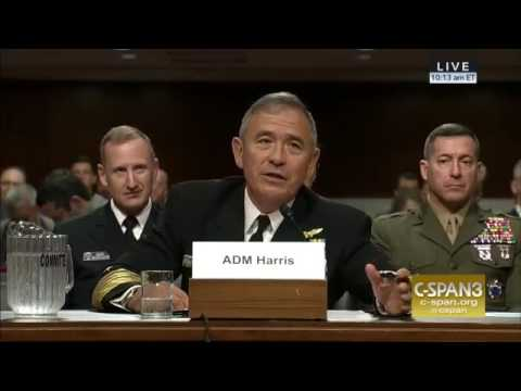 Admiral Harris; 'I Need High Power Options' U.S. Kinetic Action Left