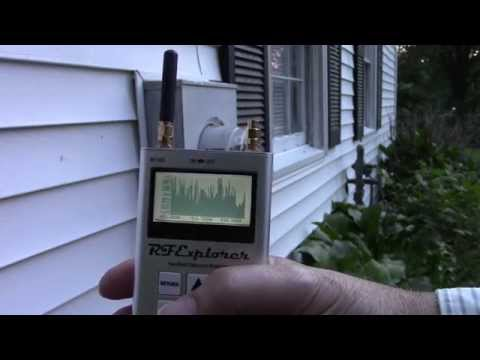 Smart Meters blasting the 900 Mhz band