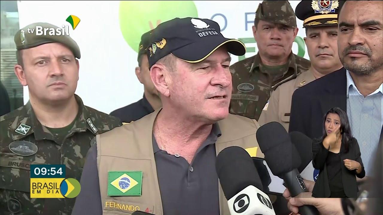 Ministro da Defesa acompanha Operação Verde Brasil