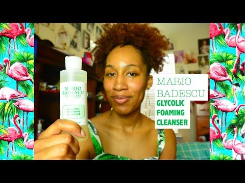 Mario Badescu Glycolic Cleanser Review Ingredients Breakdown